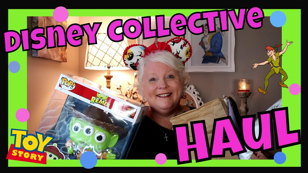 Disney Collective Haul!!  Peter Pan, Toy Story, Incredibles,  and more!