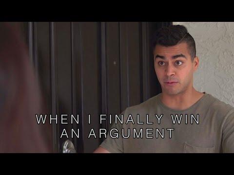 When I finally win an argument - David Lopez