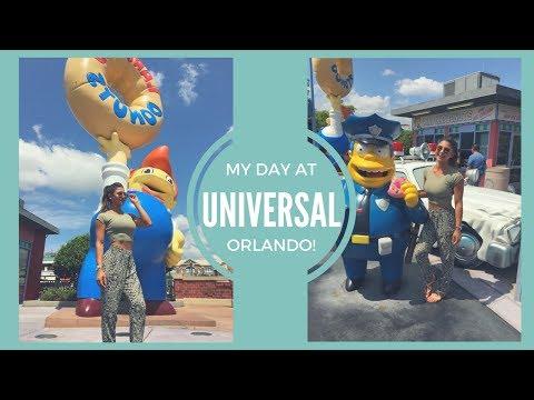 A DAY AT UNIVERSAL ORLANDO! | VLOG