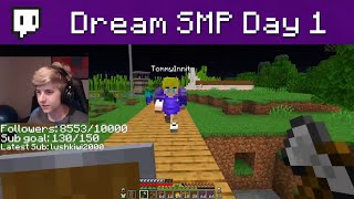 My first day on the Dream SMP