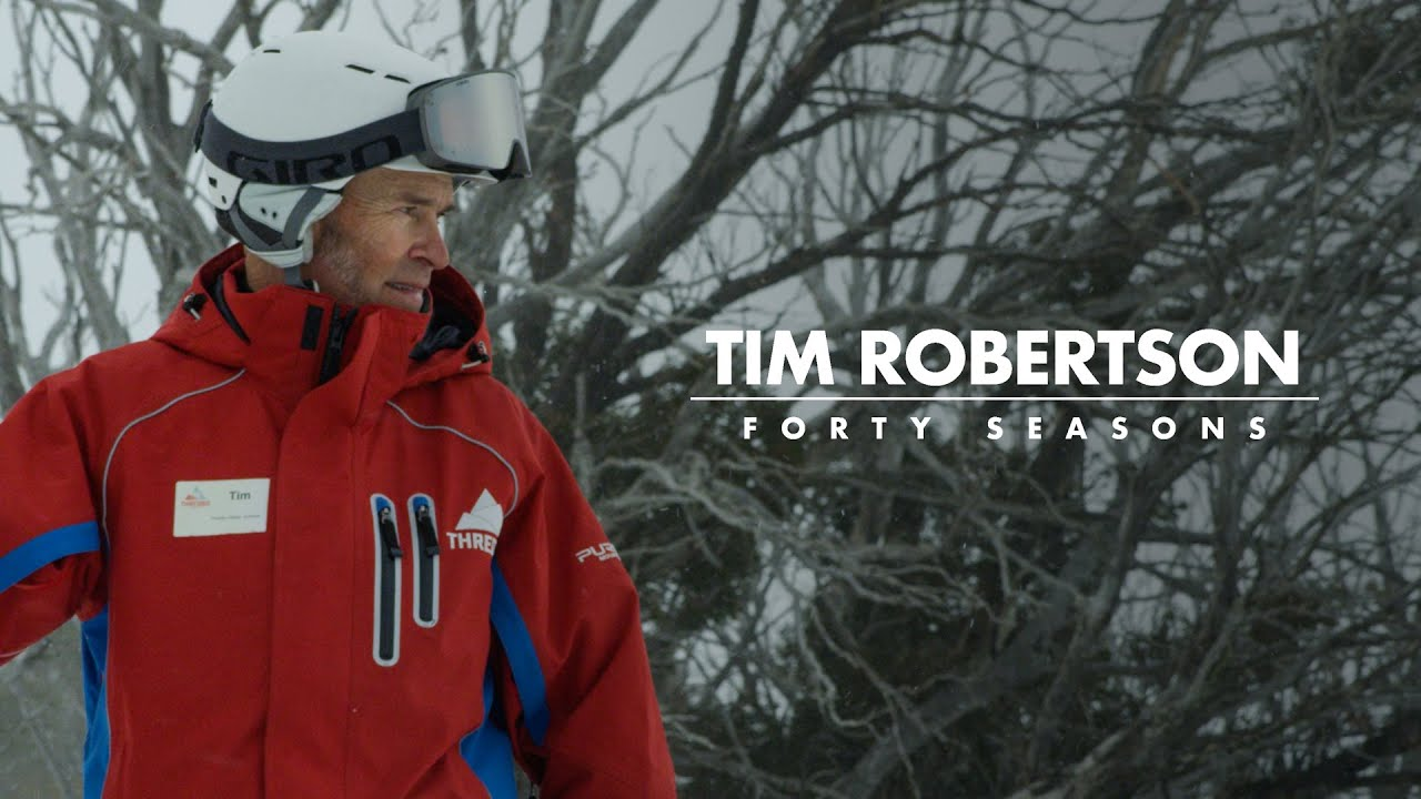 Tim Robertson | Celebrating 40 Years as a Thredbo Ski Instructor