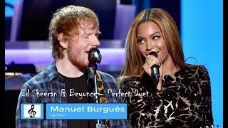 Baixar Ed Sheeran & Beyonce | Perfect Duet | PURE LYRICS VIDEO ed.