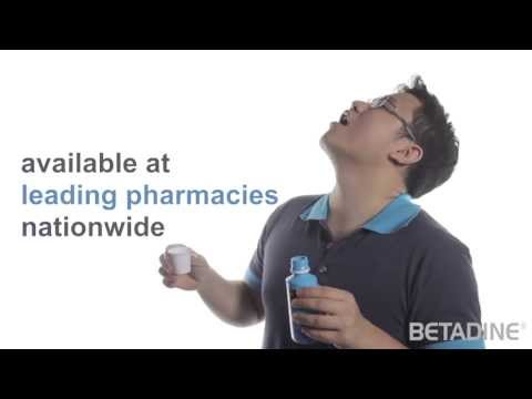 Betadine - Gargle & Mouth Wash (It Really Works!)