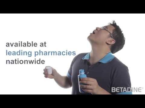 betadine scrub and paint instructions