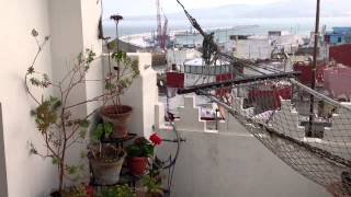 Tangier , the Medina under the Easter weather