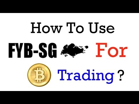 How To Use FYBSG For Bitcoin Trading?