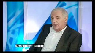 Euro 2012 Rep of Ire v Estonia: Panel Reaction