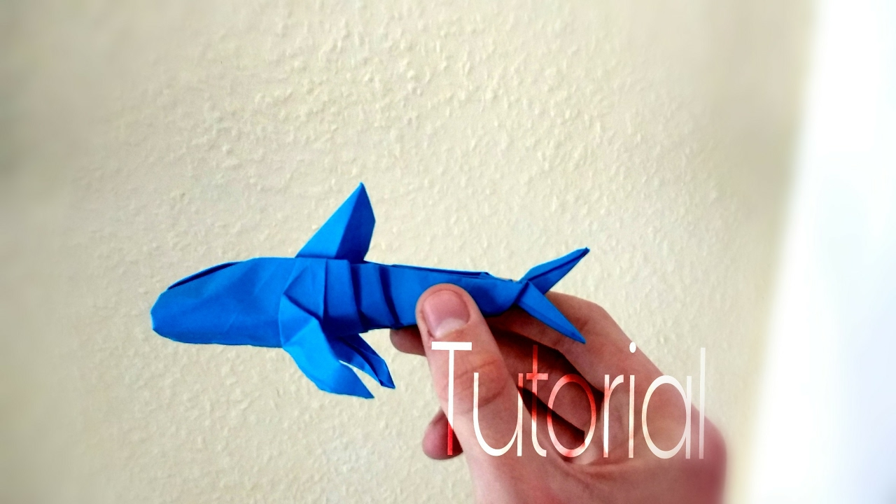 How To Make An Origami Whale Shark By Paper Benni Part 1 Of 2