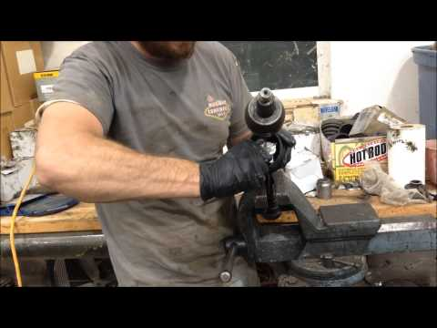 How To change the  Front CV Boot on a polaris Ranger 700EFI