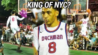 Jahvon Quinerly Brings Epic JELLY To Dyckman! Insane Poster Shuts It DOWN 😱