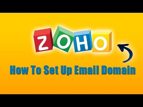 How To Set Up Domain with ZOHO Email (Alternative to Google Apps & Outlook)