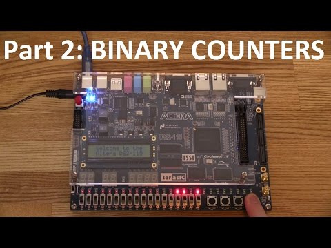 FPGAs and VHDL- Part 2: Making a Counter - Ec-Projects