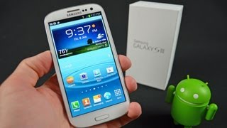 Samsung Galaxy S III: Unboxing & Review(Detailed unboxing and review of the Samsung Galaxy S III (unlocked version). Phone Specs: CPU: 1.4 Quad-Core Exynos 4412 GPU: ARM Mali-400/MP4 RAM: ..., 2012-06-09T03:46:03.000Z)