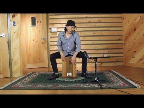 Flamenco Cajon Solo Performance by Taku Hirano