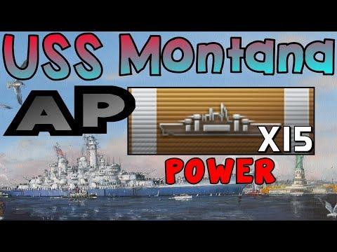 Montana: 320k DMG, 15 Citadel Hits and Kraken || World of Warships