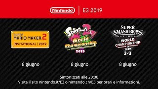 Nintendo 2019 World Championship Tournaments