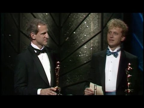 """""""The Times of Harvey Milk"""" winning Best Documentary Feature"""