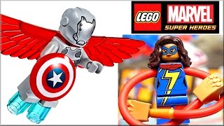 Обзор LEGO Marvel 76076 Воздушная погоня Капитана Америка  Набор Лего Супергерои 2017(, 2017-01-23T13:16:14.000Z)
