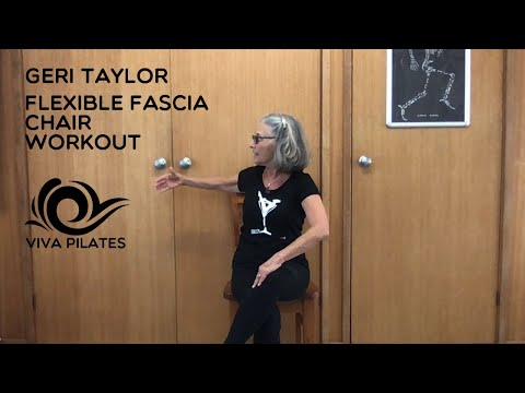 Viva Pilates Flexible Fascia Chair Class By Geri Taylor