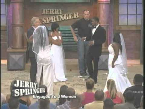 Engaged To 3 Women (The Jerry Springer Show)