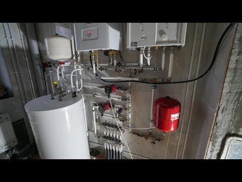 видео: Система отопления красиво и качественно.
