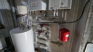 Система отопления красиво и качественно.