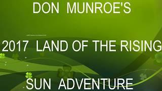 Don Munroe's  2017 Japan Adventure