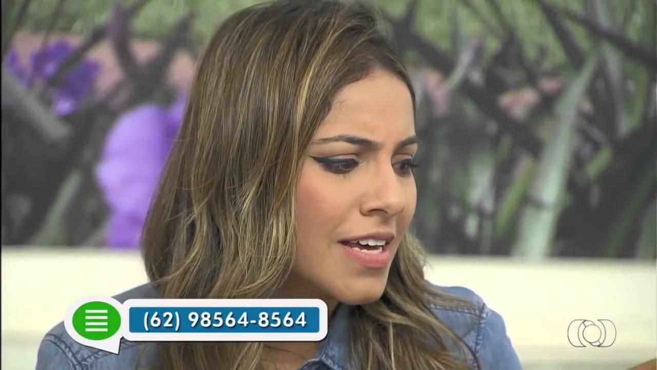 Gabriela Rocha - JA 1ª Edição - TV Anhanguera