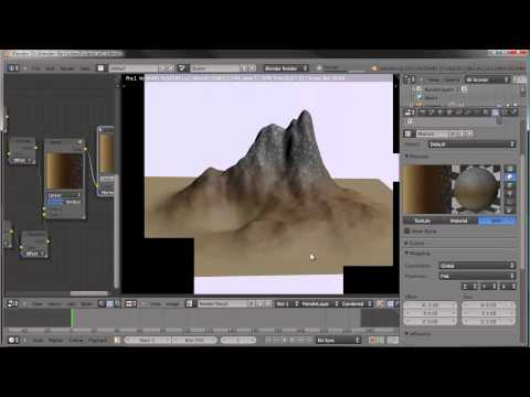 Creating an Island Environment in Blender - part 01