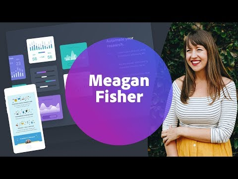 Live UI/UX Design with Meagan Fisher - 1 of 3