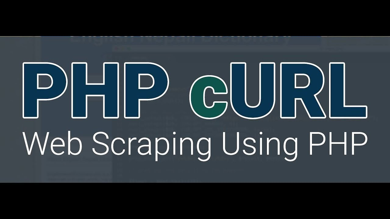 PHP cURL Web Scraping - Grabbing images