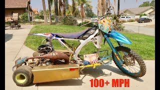 Extreme Drift Trike Shifter Kart Build Series Part 1 (100+ MPH)