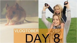 MOUSE in the HOUSE! Vlogtober 8