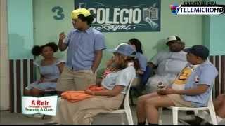 La Escuela con Cheddy Garcia, Gerald Ogando Y Aquiles Correa A REIR Con Miguel y Raymond 5/5