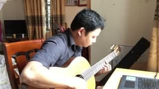 Tóc Gió Thôi Bay (Trần Tiến) Guitar solo by Lê Hùng Phong