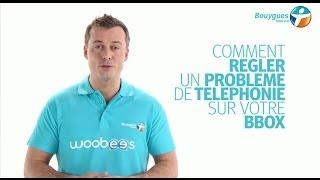 Régler un problème de téléphonie sur une ligne fixe Bbox