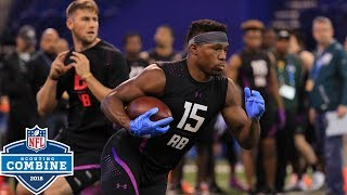 Best of Running Back Workouts! | NFL Combine Highlights