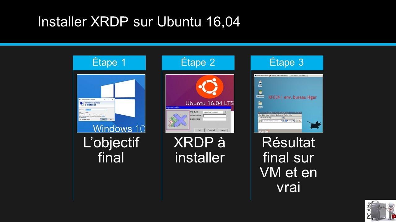 remote desktop ubuntu 18 04