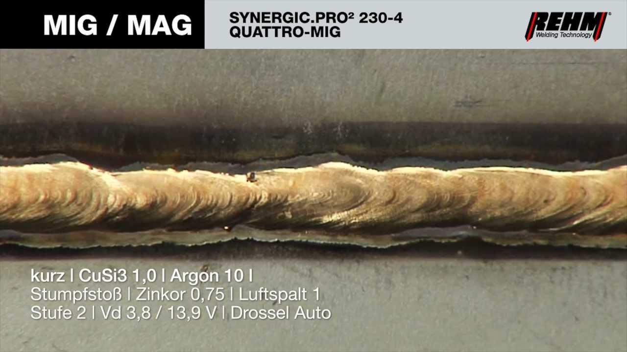 SYNERGIC.PRO² 230-4 QUATTRO MIG -- REHM MIG/MAG protective gas ...