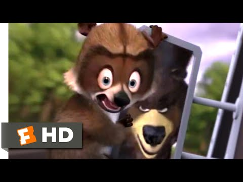 Over The Hedge (2006) - Raccoon Rescue Scene (9/10) | Movieclips