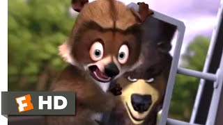 Over The Hedge 2006 Raccoon Rescue Scene 9 10 Movieclips Youtube