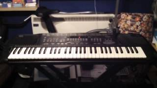 Technics SX-KN701 Keyboard 5 Demonstration Songs