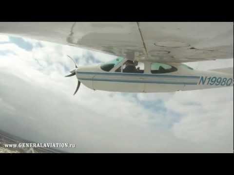 Cessna -177 RG Cardinal  Испытательный полет с уборкой шасси / Test flight with retraction gear