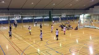 港川中学校 一般 浦添バスケットボール祭 2017.8.27 ①