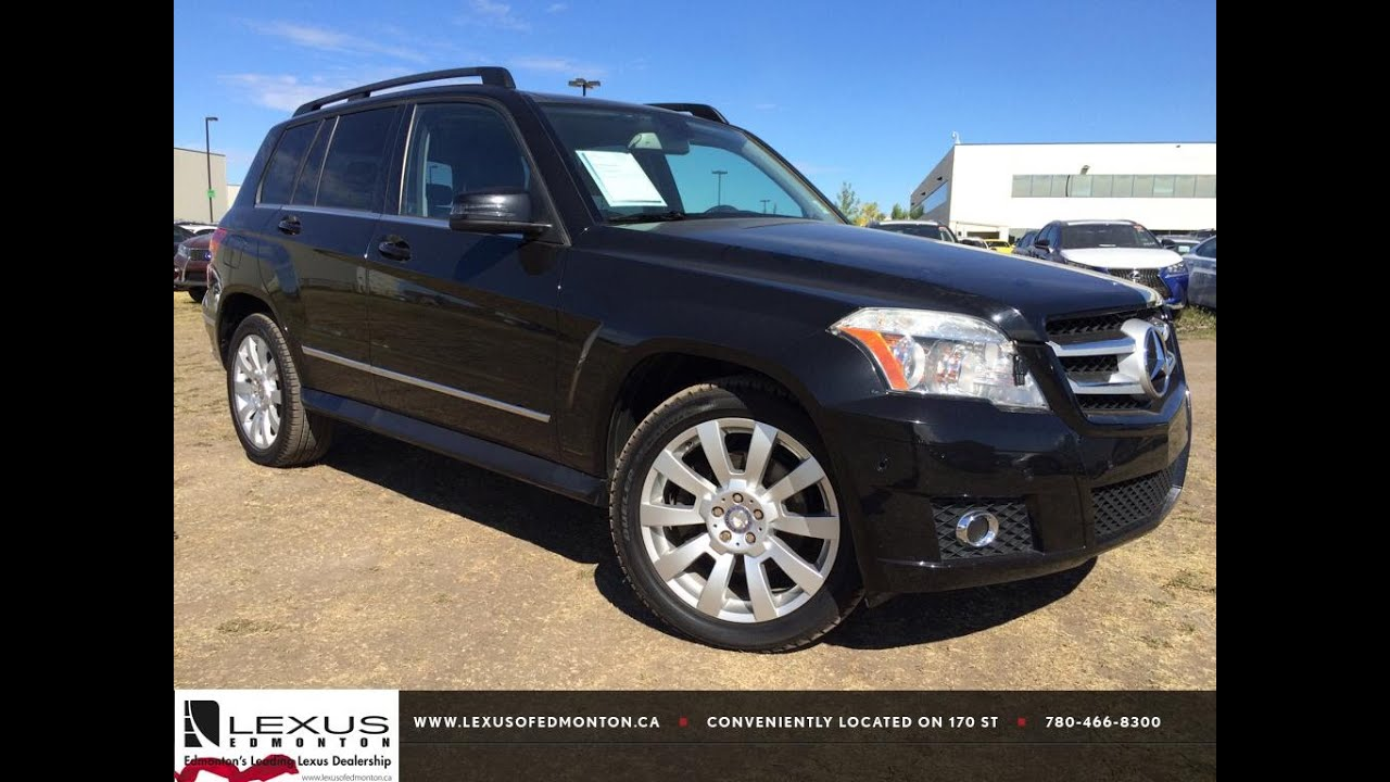 pre owned black 2010 mercedes benz glk class 4matic glk350. Black Bedroom Furniture Sets. Home Design Ideas