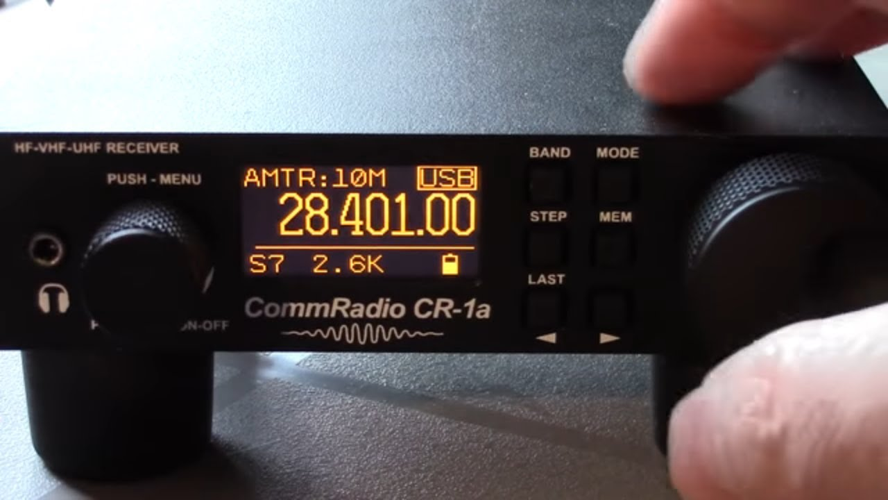 CR-1a Communications SDR Receiver ‹ SPARKY's Blog