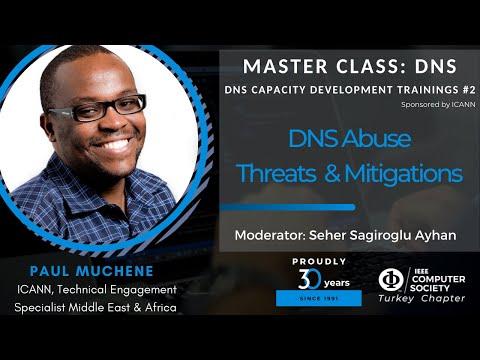 Master Class: DNS #2 - DNS Abuse Threats & Mitigations