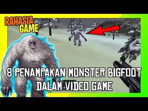 8 Penampakan Bigfoot dalam Video Game | di nomor 2 penampakan paling seram