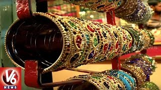 Ramzan Season | Special Report On Old City Laad Bazaar Bangle Store...