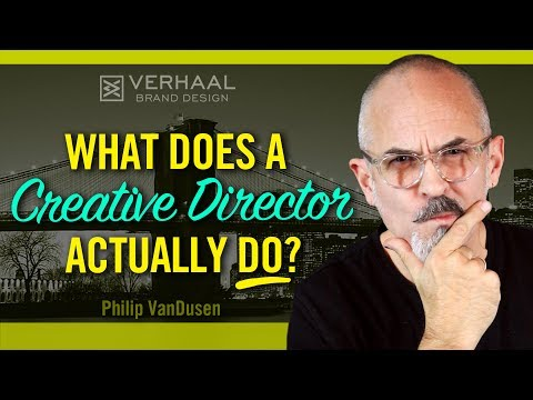 Want to be a Creative Director? What Does A Creative Directo
